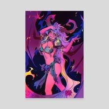 Neon Demon - Canvas by Manda Schank
