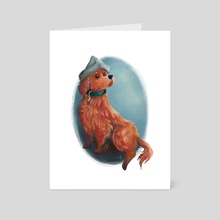 Red Beard - Art Card by Tegan Thomas