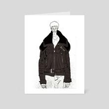 Off White - Art Card by Ben Harrison