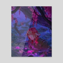 Growth - Caduceus - Acrylic by Zoe