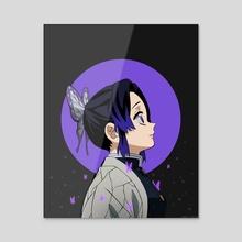 Shinobu Kocho Poster - Acrylic by Kazi Sakib