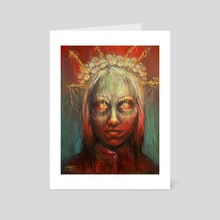Welcoming - Art Card by Tatiana Kotelnikova
