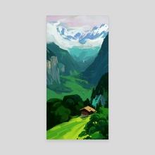 Plein April Day 29 - Canvas by Duane Schimmel