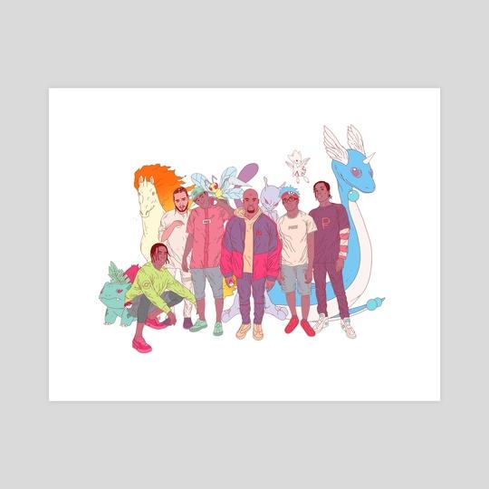 Poke-Rappers by Oran Deen-Lester