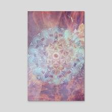 Mandala - Space - Acrylic by Alexandre Ibáñez