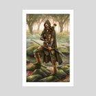 Forest Ranger - Art Print by Richard Philpott