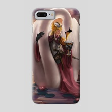 Lady of Cups - Phone Case by Elinore Eaton