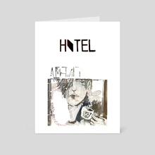 hotel - Art Card by Lan Prima