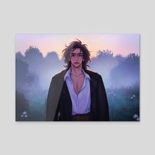 Mr.Solo - Acrylic by Vivian Rodriguez