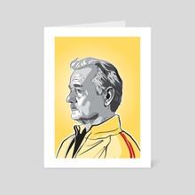 Bill Murray - Art Card by Matt  Fontaine