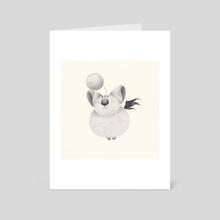 mog - Art Card by yohan sacré