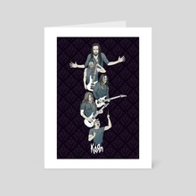 Korn - Art Card by Michael Odle