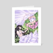 Everlasting Love - Art Card by María Jesús