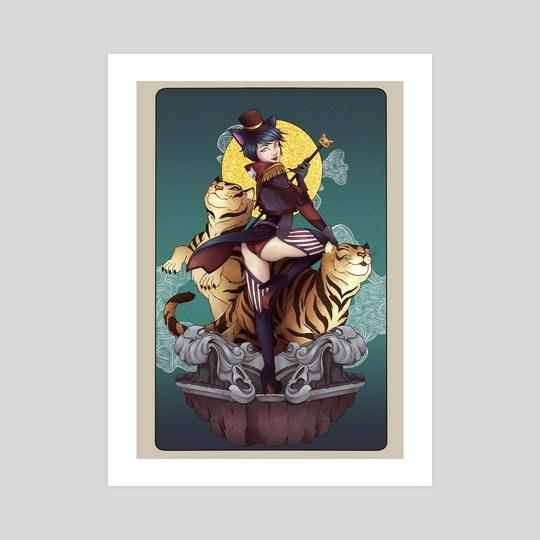 Catwoman by Rachel Kong