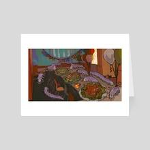 abyssopelagic - Art Card by bhramarii