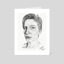 That Hannah  - Art Card by Hannah Carle