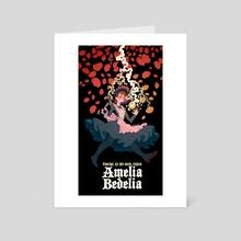 Amelia Bedelia Eldritch Goddess - Art Card by 𝕲𝖔𝖉𝖎𝖛𝖆 𝕲𝖍𝖔𝖚𝖑