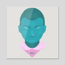 Eleven - Acrylic by Jeremy Stout