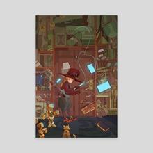 Technowitch - Canvas by Devin Kraft