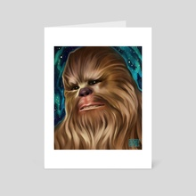 Chewbacca  - Art Card by Ashley Hinze