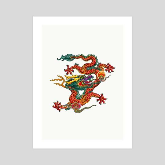 CHINA DRAGON  by Mang Bo