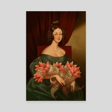 A Fallen Harvest - Canvas by Claire Hummel