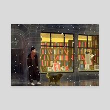 bookstore - Canvas by Lara Paulussen