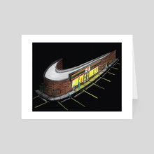 Nike 711 - Art Card by Jonathan Wolfe