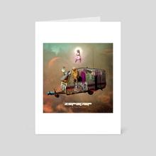 ZEF2DEF - Art Card by Matthew Clonch