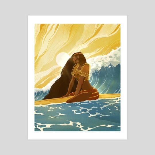 Surfer Girl Calm // Filipiniana by Sam Sum