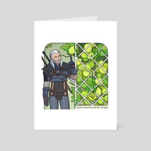 G for Geralt - Art Card by Aviv Or