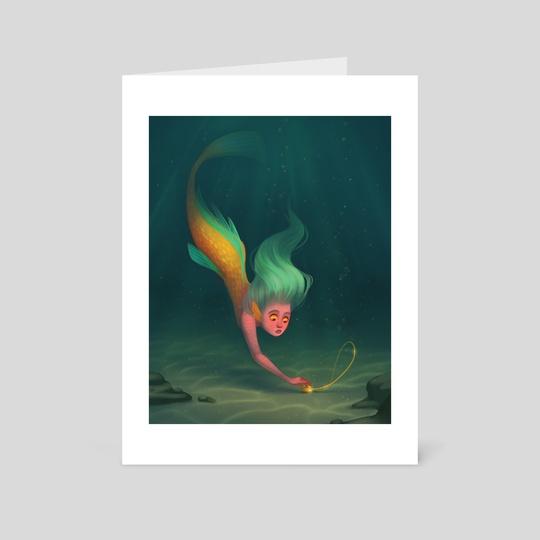 Locket Mermaid by Alyssa Tallent