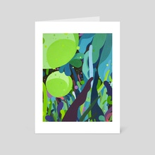 Verdant Ground - Art Card by Kyle Knapp