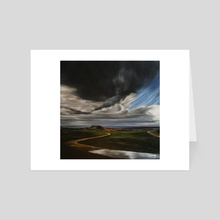 Storm - Art Card by Nigel Stewart