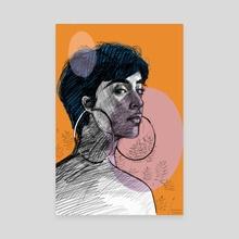 Sketch. Shape. Colour 05 - Canvas by Dhanashree Pimputkar