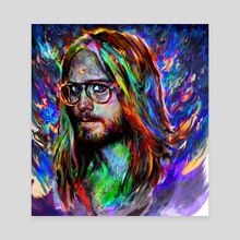 Jared Leto - Canvas by Maxim G