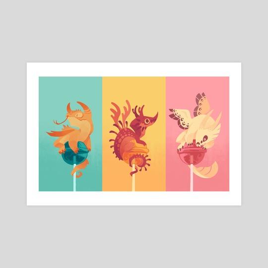 Dragonpops by Mariana Guati