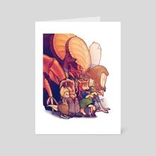 Non-Terran Crewmembers - Art Card by En Gingerboom