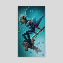 Space Pirate - Canvas by Matt Chapman