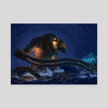 Demogorgon Rises! - Canvas by Claudio Pozas