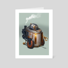 R2D2 - Art Card by Bjorn Hurri