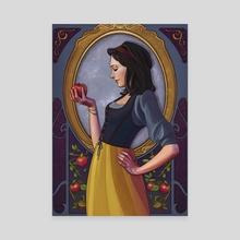 Snow White - Canvas by Sara Vallecillos