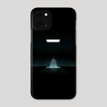 Tron Zen - Phone Case by Edwin Urena