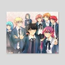 Group Photo - Acrylic by uru-chan