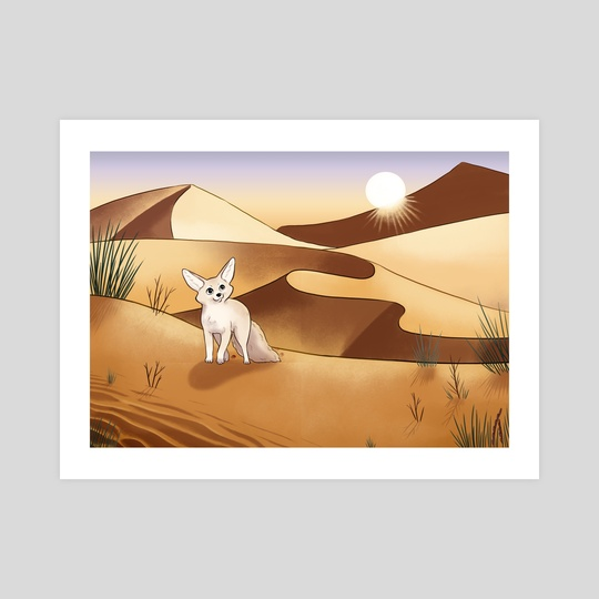 Desert Adventure by Melissa Jan