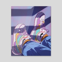 Cool Air - Acrylic by Use_The_Forca