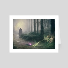 The Fairy Trapper - Art Card by Steven Stahlberg