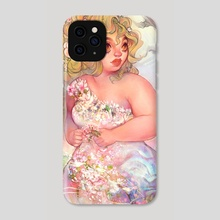 angelic - Phone Case by Kholouz