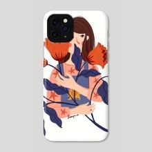 wallflower - Phone Case by Dian Pu