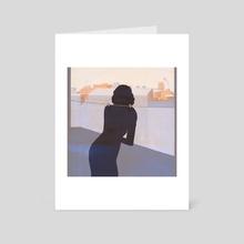 Hang on - Art Card by chiara ghigliazza